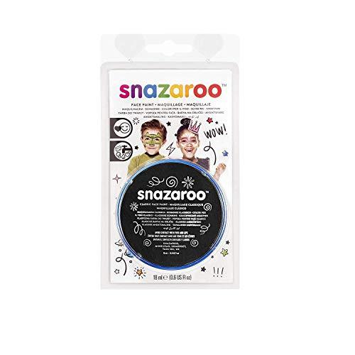 Snazaroo Face Paint 18 ML Noir (Maquillage/Peinture Visage)