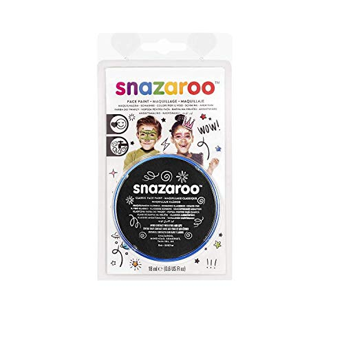 Reeves 111-9111 Snazaroo Face Paint 18ml-Noire