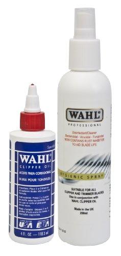 Wahl ZX126-800 - Aceite y espray higienizador para cortapelos
