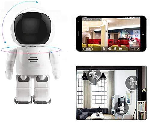 L.TSA Baby Monitor Home Red inalámbrica Monitoreo Remoto Home Treasure Intercomunicador de Voz bidireccional Alarma de detección móvil Compatible con Android/iOS