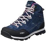 CMP Shoes, Alcor Mid Wmn Scarpe da Trekking WP Donna, Asphalt/Fragola, 37 EU