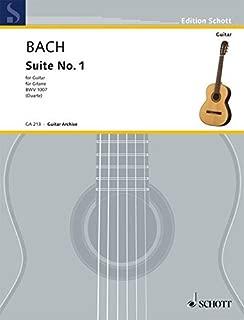 Best bach cello suite 1 classical guitar Reviews