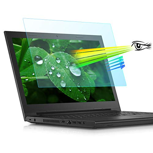 """17.3 Inch Anti Glare Computer Screen Protector-Blue Light Eye Protection Filter for All(HP/DELL/Asus/Acer/Sony/Samsung/Lenovo/Toshiba) 17.3"""" with 16:9 Aspect Ratio Laptop,1 PCS(17.3"""" S)"""