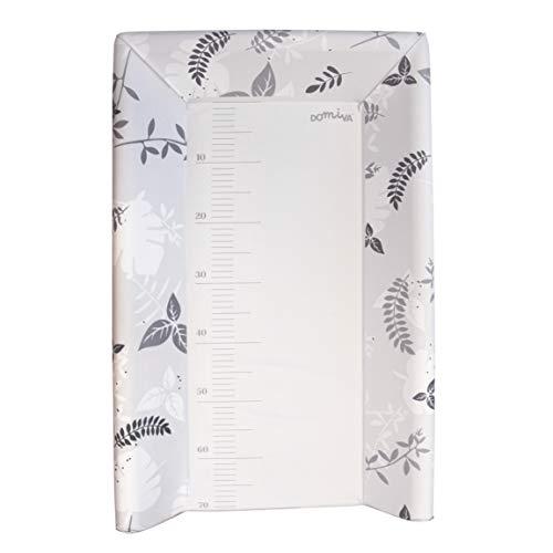 Domiva - Cambiador con colchón integrado, poema gris, 50 x 80 cm, 1 unidad