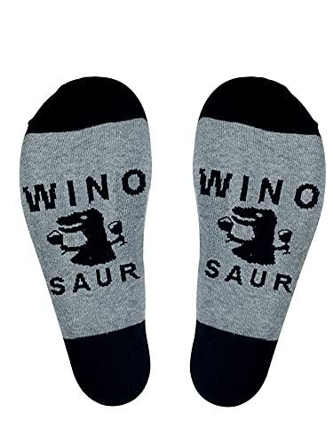 Calcetines divertidos para mujer y hombre, delgados, transpirables, suaves, con letra larga impresa manguera (B, talla única)