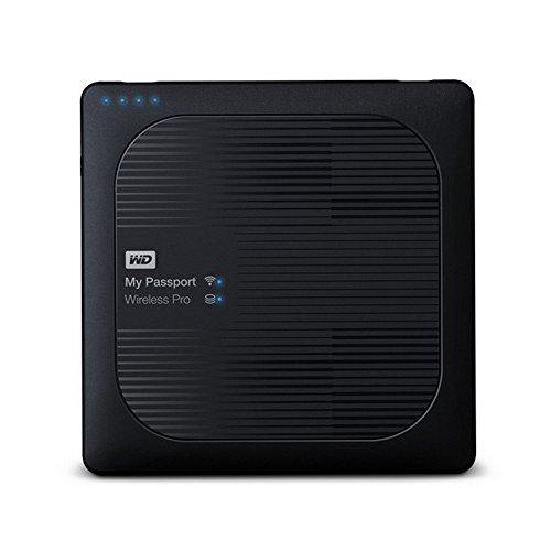 WD My Passport Wireless Pro 1TB Portable External Hard Drive (Black)
