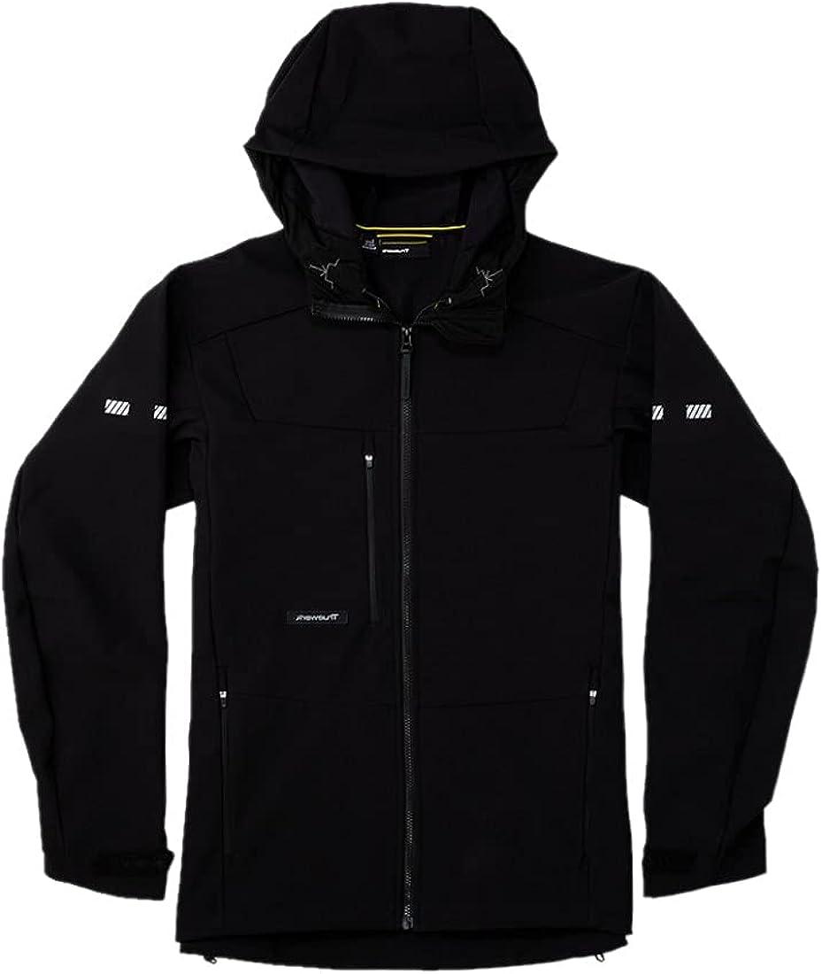 TRUEWERK Men's Insulated Work Hoodie - S3 Solution Hoodie Zipup Jacket