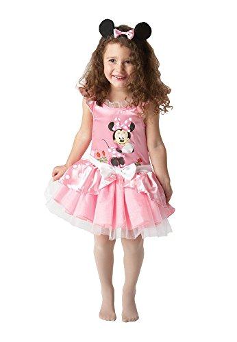 Rubie`s - Disfraz Infantil de Bailarina con Modelo de Minnie Mouse, Color Rosa (884771-S)