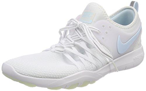 Nike Damen WMNS Free TR 7 Reflect Sneaker, Weiß (White/Glacier Blue 100), 38.5 EU