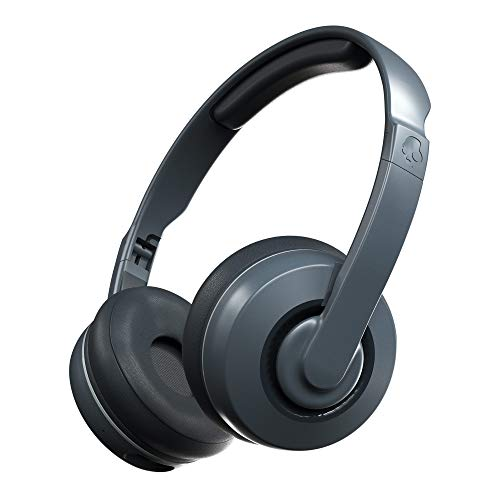 Skullcandy Cassette S5CSW-M448 Wireless Bluetooth On Ear Headphone with Mic (Chill Gray)