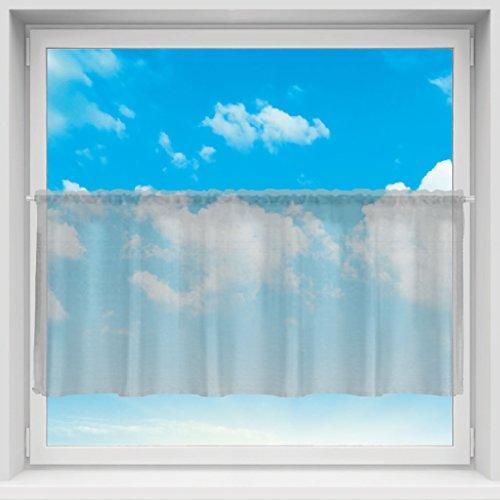 Bestlivings Tenda in Voile con Passanti per Asta, Semplice e Moderna Decorazione per finestre, Disponibile in Diversi Colori e Dimensioni.