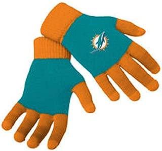 FOCO NFL Unisex Knit Colorblock Glove