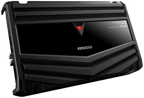 Kenwood KAC-6406 Amplificatore, Nero