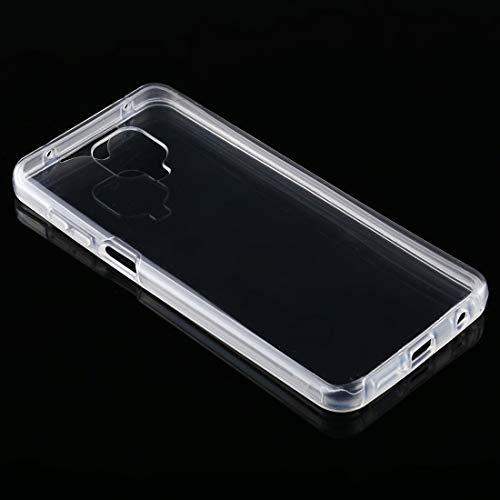 Zhangli Xiaomi Carcasas Para Xiaomi Redmi Note 9S PC+TPU Ultra-Delgado Doble Cara Todo Incluido Transparente Casos Xiaomi