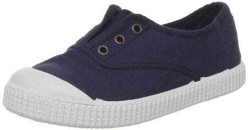 Victoria Inglesa Lona Tintada Punt, Zapatillas Unisex niños, Azul (30 Marino), 33 EU