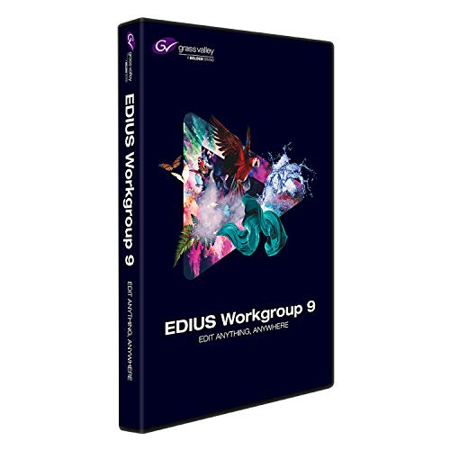 Grass Valley EDIUS Workgroup 9 Jump Upgrade von EDIUS 2-7 und EDIUS Pro 8