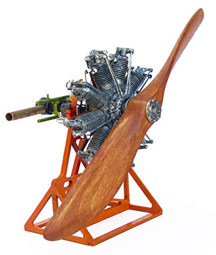 Model Airways MA1031 Sopwith Camel Clerget Rotary Engine 1:16 Scale - Metal Kit