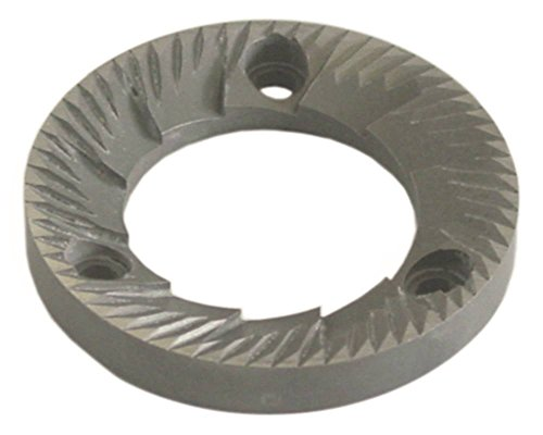 Rancilio paar maalschijven voor koffiemolen MD D1 ø 63,3 mm rechte bevestiging 50 mm boring ø 8,5 mm links D1 63,3 mm hoogte 9 mm