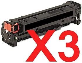 3 x Compatible HP CF210X Black Toner Cartridge 131X