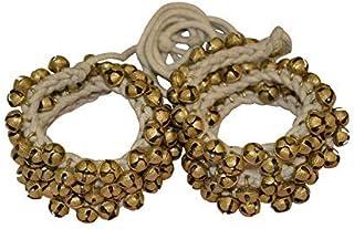 VISHAL INDIA CRAFT Ghungroo 75 Bell Pair 1.6 Cm, Kathak Ghungru 75 Dancing Bells Anklets