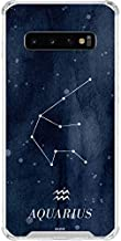 Skinit Clear Phone Case for Galaxy S10 - Originally Designed Aquarius Constellation Design