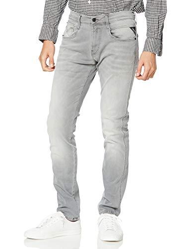 Replay Herren Anbass Jeans, Grau (Medium Grey 096), 32W / 32L
