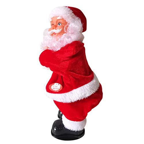 HSKB Kerstman met muziek, Kerstmis, Santa You, Sexy, cadeau voor Kerstmis, street dance pop, pluche, Kerstmis, Sinterklaas, speelgoed