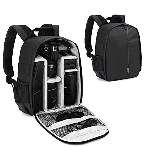 Bolsa de cámara y filtro Paquete impermeable cámaras réflex digitales, lentes, trípode y accesorios