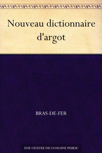 Couverture du livre Nouveau dictionnaire d'argot