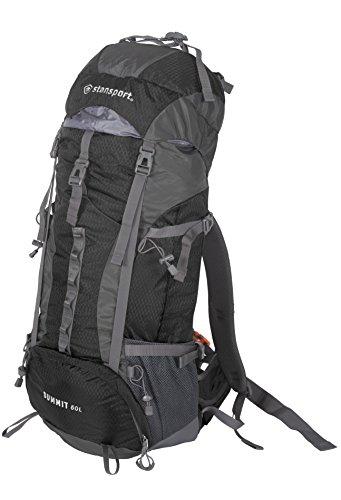 Stansport Internal Frame Pack, 50 Liter - Black, Standard (1015-20)