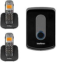 Kit Interfone Porteiro Residencial Intelbras Sem Fio TIS 5010 02 Ramais Internos