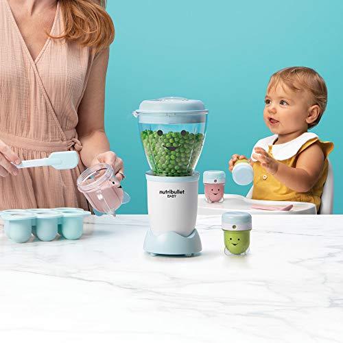 NutriBullet NBY-50100 Baby Complete Food-Making System, 32-Oz, Blue