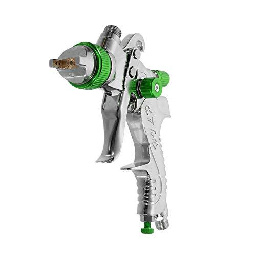 BLTR Vida más Larga Profesional HVLP 600 ml de 1,4/1,7/2,0 mm Boquilla Gravedad neumática Equipamiento de Pintura Spay Pistola for el Coche Auto Repair Tool Kit Pintura Resbaloso (Color : Green)