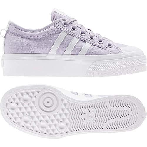 adidas Originals womens Superstar Sneaker, BLIPUR/FTWWHT/FTWWHT, 6.5 US