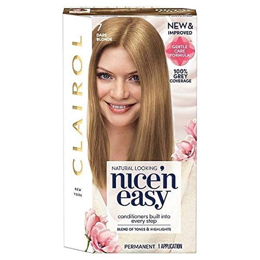 電化するシュガー判読できない[Nice'n Easy] Nice'N簡単7ダークブロンド - Nice'n Easy 7 Dark Blonde [並行輸入品]