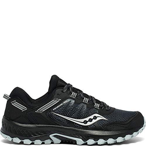Saucony Men's VERSAFOAM Excursion TR13 Road Running Shoe, Black, 10 M US