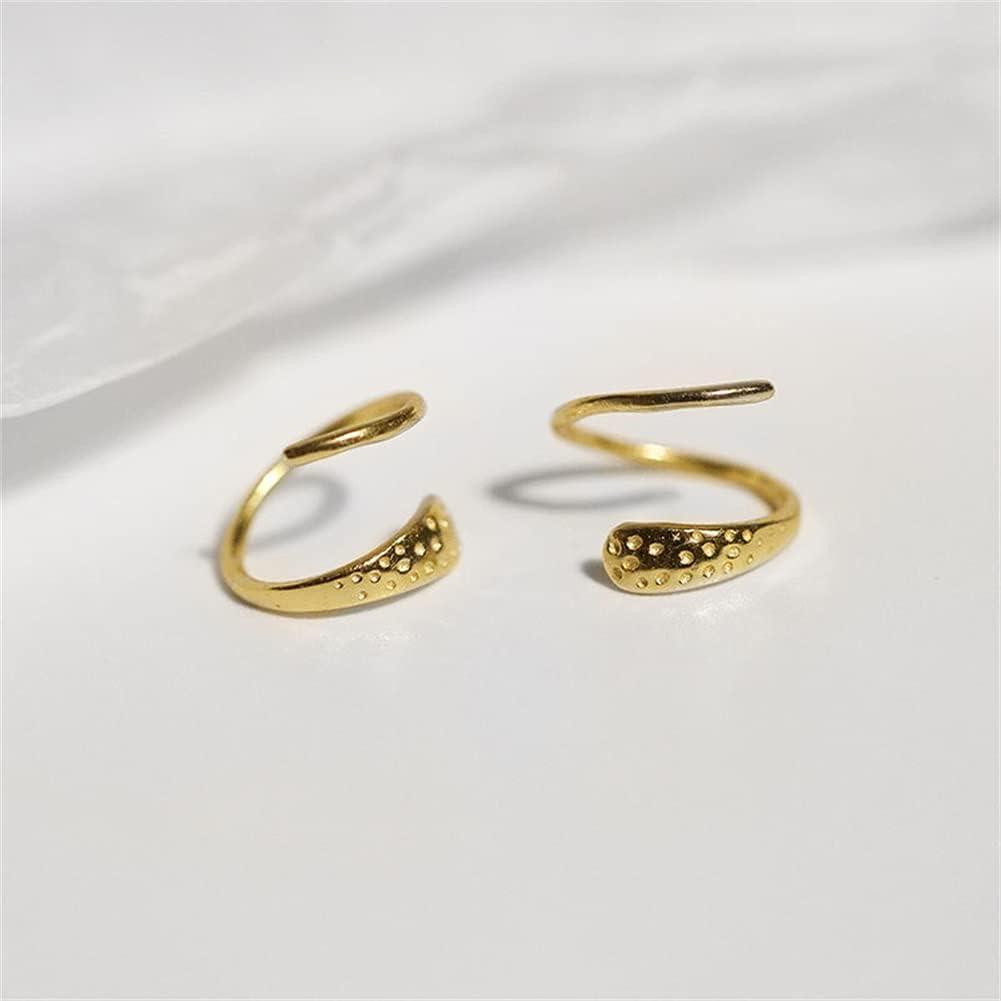 qwert Crystal Clip On Earring Dangle Jewellery for Women Girls Non Pierced Ear Pearl Stud Earrings for Women Men Ear Clip Earrings,Gold