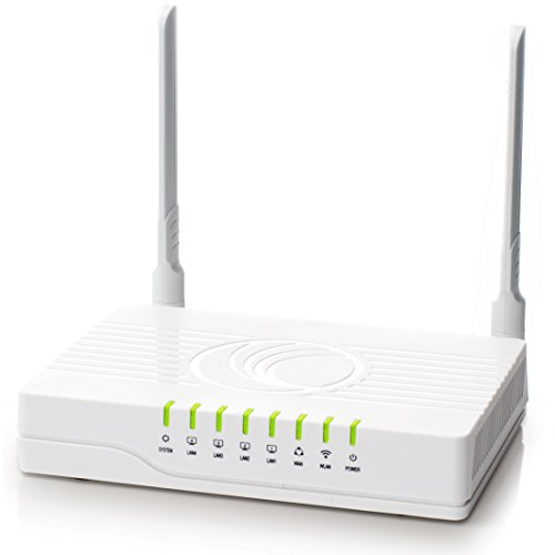 Cambium Networks cnPilot R190V Router with Built-in ATA for Home Clients - 2.4 GHz WLAN - IPV6 Capable - Cloud Managed - US Cord 802.11n (PL-R190VUSA-WW)