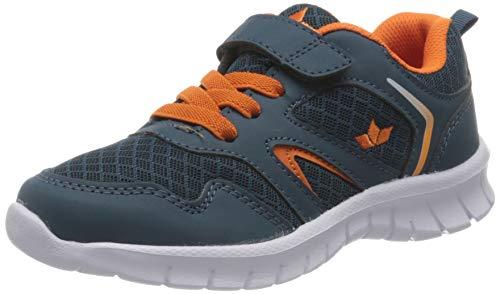 Lico Skip VS Sneaker Mädchen, Petrol/ Orange, 41 EU