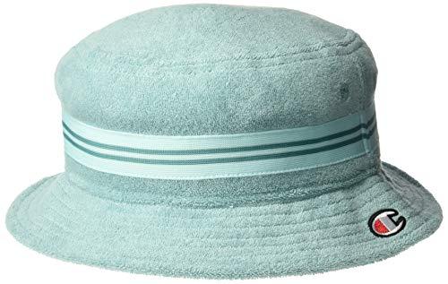 Champion LIFE Men's Terry Bucket Hat, Eucalyptus Green, L-XL