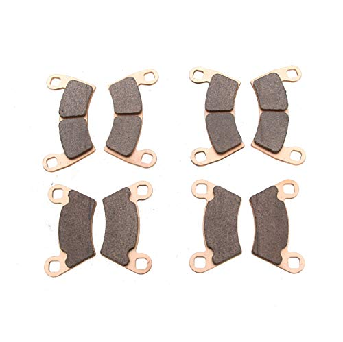 Race Driven Front and Rear Sintered Metal Severe Duty Brake Pads for Polaris Ranger RZR Razor Ace Sportsman