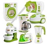 Sanfiyya 1PC niños Cafetera Juguete Mini Cocina de Juguete de estimulación eléctrica Cocinar Modelo Juego de imaginación Juguete para niños pequeños aparatos de Cocina Artículos del hogar