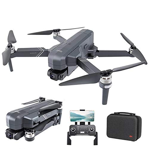 SANSHIYI F11 PRO Camera Drones 30 Mins Flight Time Height Keep Long Control Range with 4K HD GPS WiFi Brushless Motor