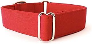 4GUAUS Collar Martingale para Perros - Modelo Rojo Liso