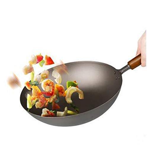 Non Stick roer Fry pan voor inductie, 22-30CM Makkelijk schoon te maken Geschikt voor allerlei kachels, Gezondheidscadeaus voor het gezin Modern design 24CM Kleur