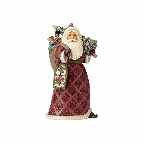 Enesco Jim Shore Heartwood Creek Dreaming of Christmas Past Stone Resin Santa, 9.5' Figurine