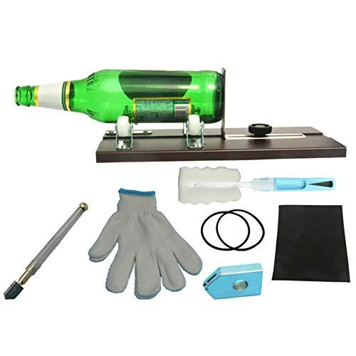 Faviye Wijnfles, glazen fles, cutter, metaal, snijkit voor gekleurd glas, flessen, plantmachines, flessen, lampen, kandelaar
