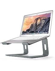 BoYata laptopstandaard: demonteerbaar met ventilatie, draagbare notebookstandaard compatibel met laptop (10~15,9 inch) MacBook Pro/Air, HP, Dell, Lenovo, Samsung, Acer, HUAWEI MateBook (Grijs)