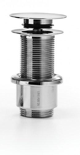 Lineabeta Druckablaufgarnitur 80mm für Waschbecken Busi E Cane Druckablaufgarnitur 80mm Waschbecken ohne Überlauf Busi E Cane