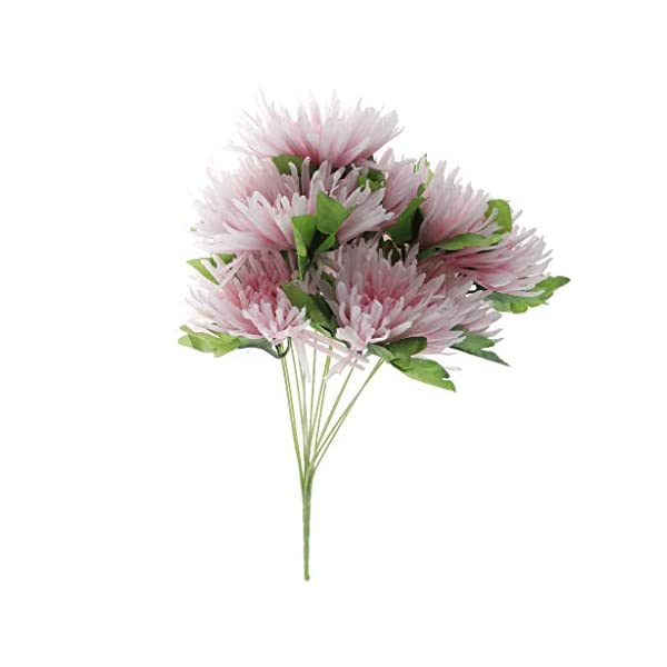 joyMerit Artificial Flowers Arrangement in Pot for Grave Memorial Funeral Cemetery